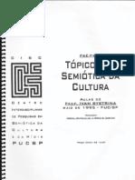 BYSTRINA - Tópicos de Semiótica da Cultura [Aula 1 e 2]