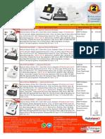 price list scanner plustek