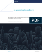 Building a Great Data Platform Web Final