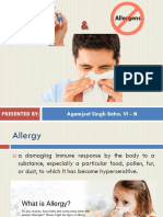 Allergy and Allergens