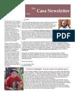The Casa Newsletter - Fall 2010