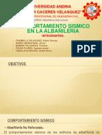 Comportamiento Sismico en Albañileriaa