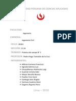 Informe de Geología 2
