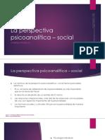 5 PARTE II La Perspectiva Psicoanalítica - Social ADLER Psicología Individual