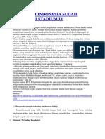 SAMPAH DI INDONESIA SUDAH MEMASUKI STADIUM IV.docx