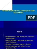 The Role of Sulfonylurea in Management T2DM,Now and Then