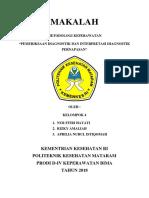 KELOMPOK 4(Pemeriksaan Diagnostik Dan Interpretasi Pernapasan)