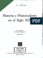Escuela Histórica Romántica Alemana (Grimm) y Francesa (Thierry, Michelet) - Gooch, G. P