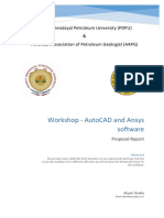 AutoCad and Ansys Software