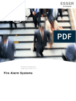 054581ATG0 Fire Alarm Product Catalog 2017- Austria