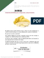 03262015 Comprando Dividendos Para o Longo Prazo a Preco de Banana