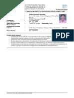 INFRACON CV of SPS Balasubramanyam