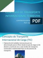 Contrato de Transporte Terrestre