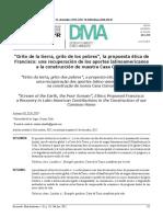 """""""Grito de la Tierra, Grito de los Pobres"""", la Propuesta Ética de Francisco; Una Recuperación de los Aportes Latinoamericanos a la Construcción de Nuestra Casa Común.pdf"""