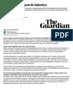 Brasil - Paraisópolis x Morumbi - 2017 - The Guardian São Paulo a Imagem Da Injustiça