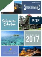 Indikator Makro Sosial Ekonomi Sulawesi Selatan Triwulan 4 2017