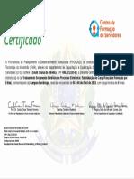 Tipo de Certificado