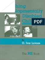 Ole Ivar Lovaas - Teaching Developmentally Disabled Children (The ME Book)