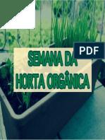 Água e Irrigação na Horta Orgânica