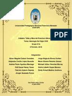 Informe Catedra de Morazan