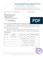 Purchase Order for Bitumen VG 40,PO RCCL IOCL 398,11.09.17 1