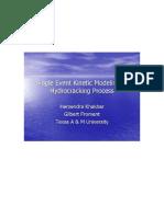Kinetic Modeling of Hydrocracking-3 Hemendra Khakhar