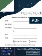 Form Offline Ncc