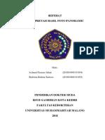 Referat Radiologi Panoramik Final