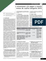 Boletín Laboral - Suspensión de retenciones y-o pagos a cuenta por rentas de cuarta categoría 2016.pdf