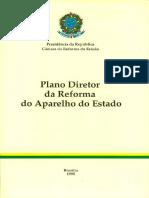 Plano diretor da reforma do aparelho do estado - 1995.pdf