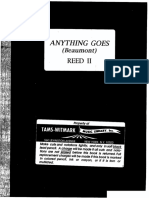 Reed II - Anything Goes