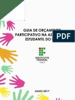Guia de Orçamento Participativo Na Assistência Estudantil Do IFCE