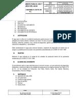 Pci-10 Procedimiento Para El Uso y Manejo Del Agua