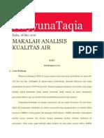 Analisis Air Dilap 1