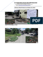 Progress Report of Baras Rizal as of June 29, 2018