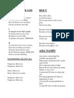 SOngs of Choir PH