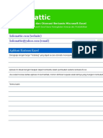 Kuitansi Excel Original
