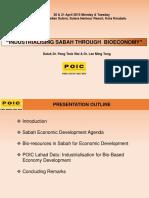 Bioeconomy Sabah 2015 POIC