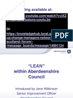 21.05.15 Lean in Aberdeenshire Council Webinar Recording