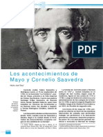 Tanzi. Saavedra y Los Acontecimientos de Mayo