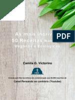 As 50 Receitas Naturais Mais Incriveis