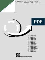Betriebsanleitung ZF25A Bis ZF85IV Hydraulisch