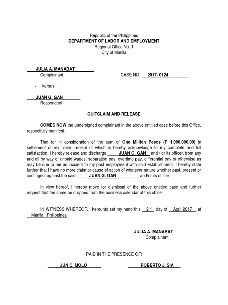 Contract of Lease of Personal, Real Property, Contract of
