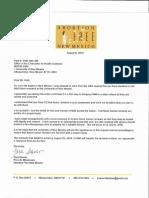 UNM Fetal Remains Request Letter