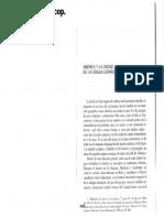 05069003 LAPESA -  América y la unidad de la lengua española + Las formas verbales de la segunda persona(...).pdf