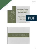 20111201 FMU as National Priority