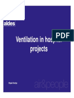 Ventilation in Hospital Projects