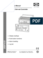 DEIF Operators Manual 4189340380 UK