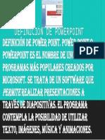 Definición de Power Point