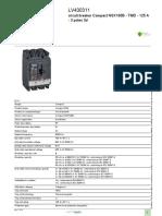 Compact NSX LV430311